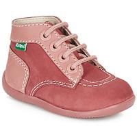 Sapatos Rapariga Botas baixas Kickers BONBON Rosa