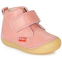 Sapatos Rapariga Botas baixas Kickers SABIO Rosa