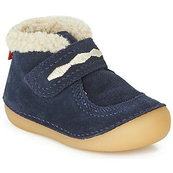 Sapatos Criança Botas baixas Kickers SOETNIC Marinho