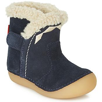 Sapatos Criança Botas Kickers SOFUR Marinho