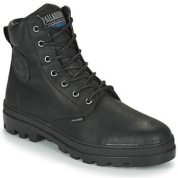 Sapatos Homem Botas baixas Palladium PALLABOSSE SC WP Preto