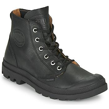 Sapatos Botas baixas Palladium PAMPA HI LTH UL Preto