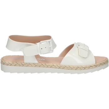 Sapatos Rapariga Sandálias MTNG 47617 Blanco