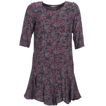 Textil Mulher Vestidos curtos See U Soon BOETICO Preto / Violeta