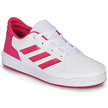 Sapatos Rapariga Sapatilhas adidas Performance ALTASPORT K Branco / Rosa