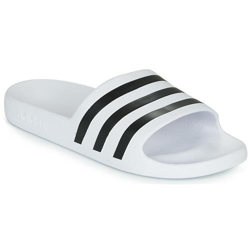 Sapatos chinelos adidas Performance ADILETTE AQUA Branco