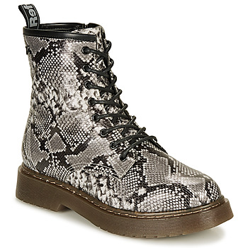 Sapatos Mulher Botas baixas Refresh 69311-BLACK Cinza