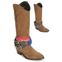 Sapatos Mulher Botas Replay FRUITLAND Camel
