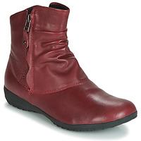 Sapatos Mulher Botas baixas Josef Seibel NALY 24 Carmim