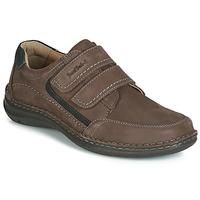 Sapatos Homem Sapatos Josef Seibel ANVERS 90 Castanho
