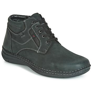 Sapatos Homem Botas baixas Josef Seibel ANVERS 35 Preto
