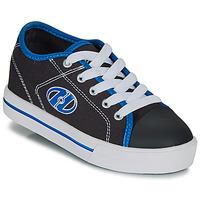 Sapatos Rapaz Sapatilhas com rodas Heelys CLASSIC X2 Preto / Branco / Azul