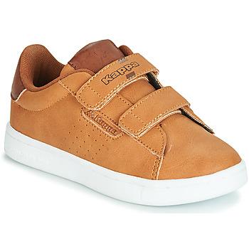Sapatos Rapaz Sapatilhas Kappa TCHOURI Castanho