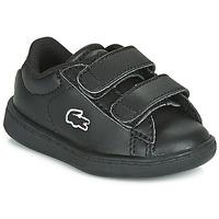 Sapatos Criança Sapatilhas Lacoste CARNABY EVO BL 3 SUI Preto