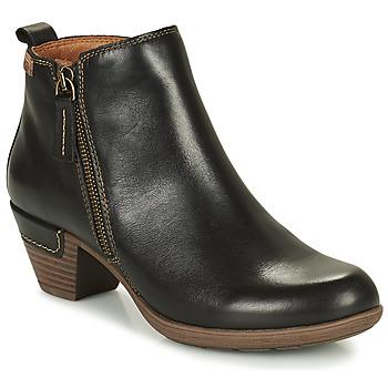 Sapatos Mulher Botins Pikolinos ROTTERDAM 902 Preto