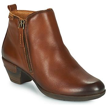 Sapatos Mulher Botins Pikolinos ROTTERDAM 902 Conhaque