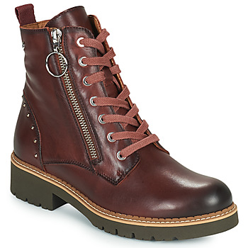 Sapatos Mulher Botas baixas Pikolinos VICAR W0V Castanho