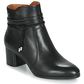 Sapatos Mulher Botins Pikolinos CALAFAT W1Z Preto