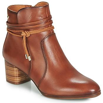 Sapatos Mulher Botins Pikolinos CALAFAT W1Z Castanho