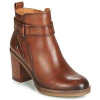 Sapatos Mulher Botins Pikolinos POMPEYA W9T Castanho