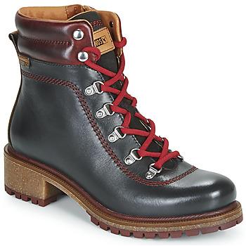 Sapatos Mulher Botas baixas Pikolinos ASPE W9Z Preto