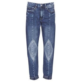 Textil Mulher Gangas boyfriend G-Star Raw 3301-L MID BOYFRIEND DIAMOND Azul / Vintage