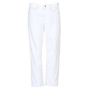 Textil Mulher Gangas boyfriend G-Star Raw 3301 MID BOYFRIEND 7/8 Branco