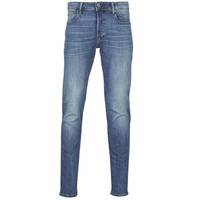 Textil Homem Calças de ganga slim G-Star Raw 3301 SLIM Azul / Vintage