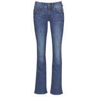 Textil Mulher Calças de ganga bootcut G-Star Raw MIDGE MID BOOTCUT WMN Azul / Azul