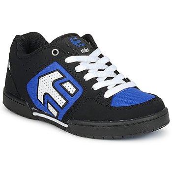 Sapatos Rapaz Sapatilhas Etnies KIDS CHARTER Preto / Branco / Azul