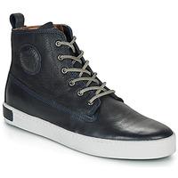Sapatos Homem Sapatilhas de cano-alto Blackstone AM02 Marinho