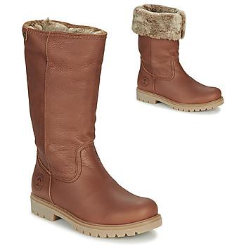Sapatos Mulher Botas Panama Jack BAMBINA Castanho