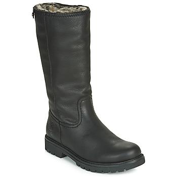 Sapatos Mulher Botas baixas Panama Jack BAMBINA Preto