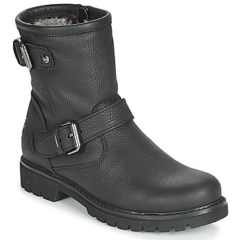 Sapatos Mulher Botas baixas Panama Jack FELINA Preto