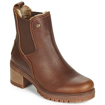 Sapatos Mulher Botins Panama Jack PIA Castanho