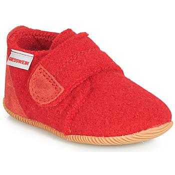 Sapatos Criança Chinelos Giesswein OBERSTAUFFEN Vermelho