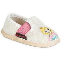Sapatos Rapariga Chinelos Giesswein THURNAU Bege