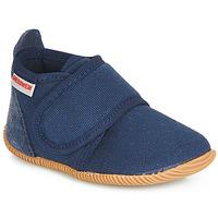 Sapatos Rapaz Chinelos Giesswein STRASS SLIM FIT Marinho
