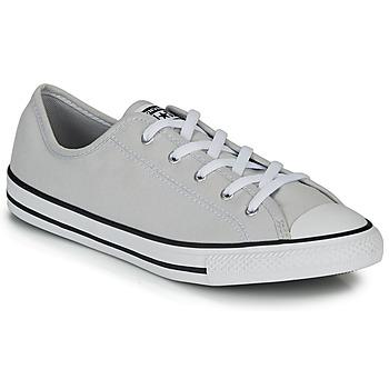 Sapatos Mulher Sapatilhas Converse CHUCK TAYLOR ALL STAR DAINTY GS  CANVAS OX Cinza