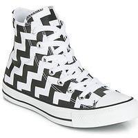 Sapatos Mulher Sapatilhas de cano-alto Converse CHUCK TAYLOR ALL STAR GLAM DUNK CANVAS HI Preto / Branco