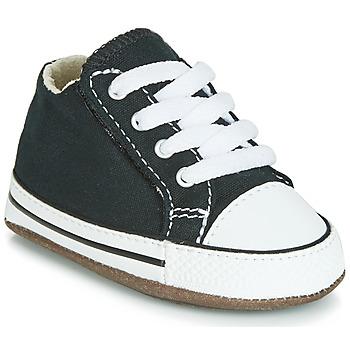 Sapatos Criança Sapatilhas de cano-alto Converse CHUCK TAYLOR ALL STAR CRIBSTER CANVAS COLOR  HI Preto