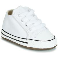 Sapatos Criança Sapatilhas de cano-alto Converse CHUCK TAYLOR ALL STAR CRIBSTER CANVAS COLOR  HI Branco