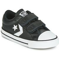 Sapatos Criança Sapatilhas Converse STAR PLAYER EV 2V  LEATHER OX Preto