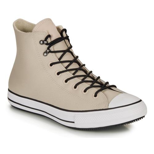Sapatos Homem Sapatilhas de cano-alto Converse CHUCK TAYLOR ALL STAR WINTER LEATHER BOOT HI Bege