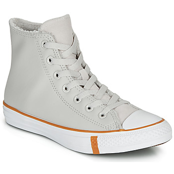 Sapatos Mulher Sapatilhas de cano-alto Converse CHUCK TAYLOR ALL STAR FAUX SHEARLING HI Bege