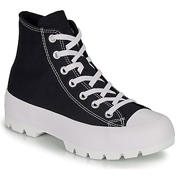 Sapatos Mulher Sapatilhas de cano-alto Converse CHUCK TAYLOR ALL STAR LUGGED HI Preto