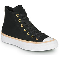 Sapatos Sapatilhas de cano-alto Converse CHUCK TAYLOR ALL STAR VACHETTA LEATHER HI Preto