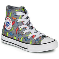 Sapatos Rapaz Sapatilhas de cano-alto Converse CHUCK TAYLOR ALL STAR DINOVERSE HI Cinza