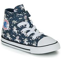 Sapatos Rapariga Sapatilhas de cano-alto Converse CHUCK TAYLOR ALL STAR 1V UNICONS HI Azul