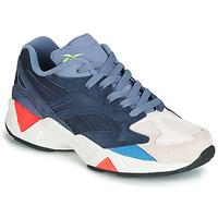 Sapatos Sapatilhas Reebok Classic AZTREK 96 Cinza / Azul